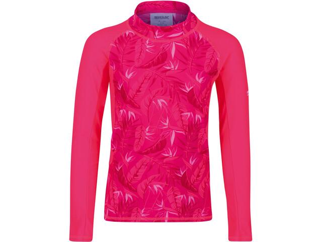 Regatta Hoku Camiseta de Natación Niños, rosa